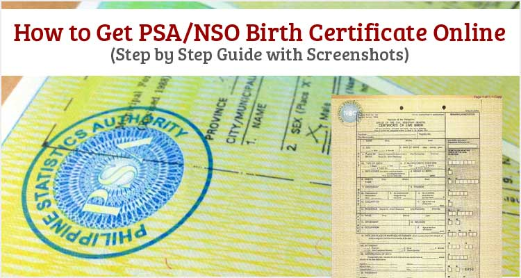 How-to-Get-PSA-NSO-Birth-Certificate Online Form Birth Certificate on pics digital, cheapest fees for, getting my, how create, application form,